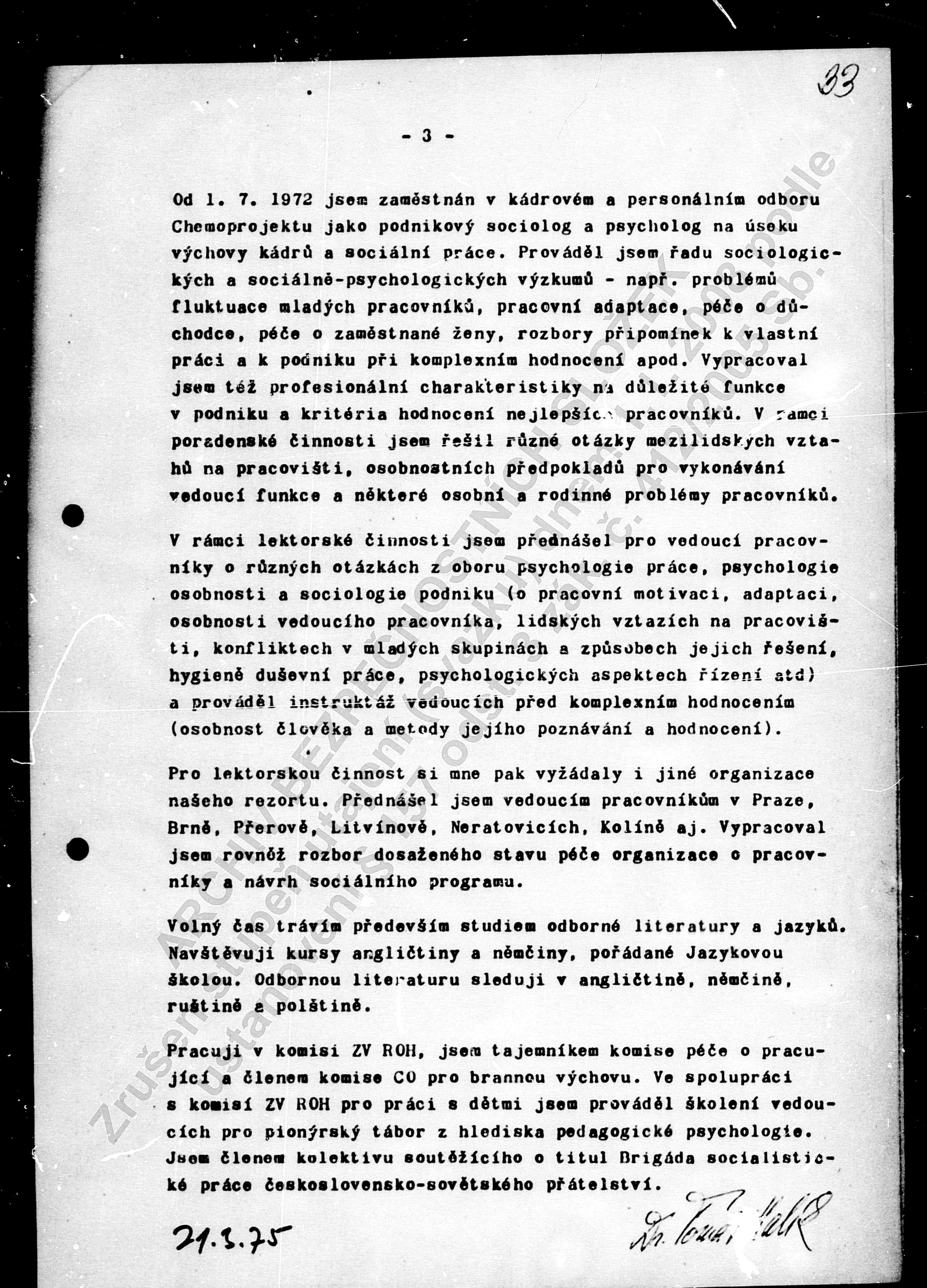 Halikuv Usvedcujici Vlastnorucne Podepsany Zivotopis Daniel Solis